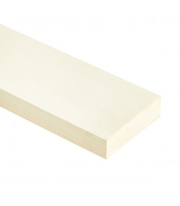 "Onafgewerkt Maple neck for ""neck trough"" guitar 1100x80x50mm"