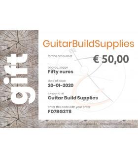 Guitarbuildsupplies Gift certificate 25,-