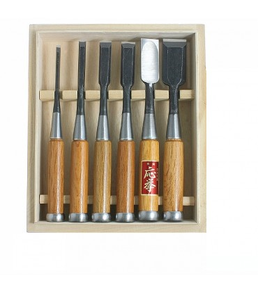 Hattori® Japanese chisels set of 6