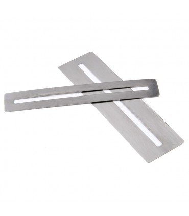 Stainless steel fingerboard protector